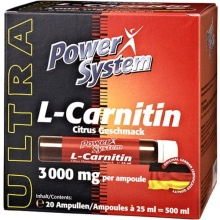 Power System L-carnitine 3000мг 25мл